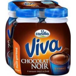 Candia Viva Chocolat Noir 25cl (pack de 4)