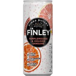 Finley Pamplemousse Orange Sanguine 25cl (pack de 6)