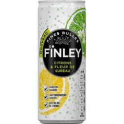 Finley Citrons & Fleur de Sureau 25cl (pack de 24)