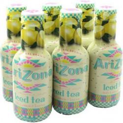 Arizona Thé Glacé Citron 50cl (pack de 6)
