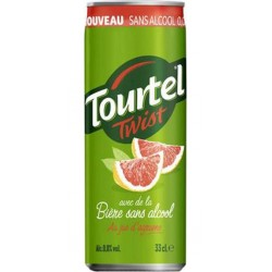 Tourtel Twist Agrume 33cl (pack de 4)