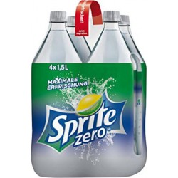 Sprite Zéro 1,5L (pack de 4)