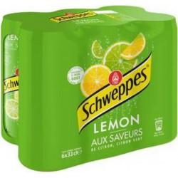 Schweppes Lemon 33cl (pack de 6)