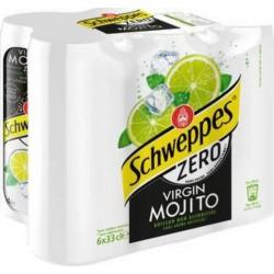 Schweppes Virgin Mojito Zéro 33cl (pack de 6)