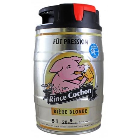 Rince Cochon Blonde Fût Pression 5L (lot de 2)
